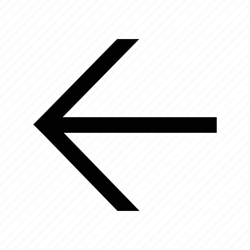 arrow, linear, medium icon
