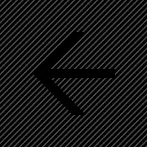 arrow, linear icon