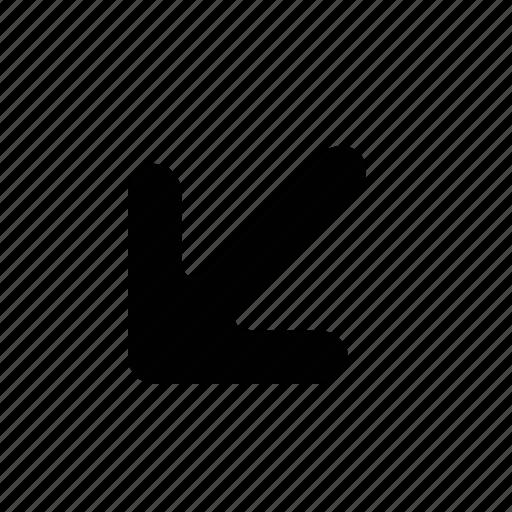 arrow, medium icon