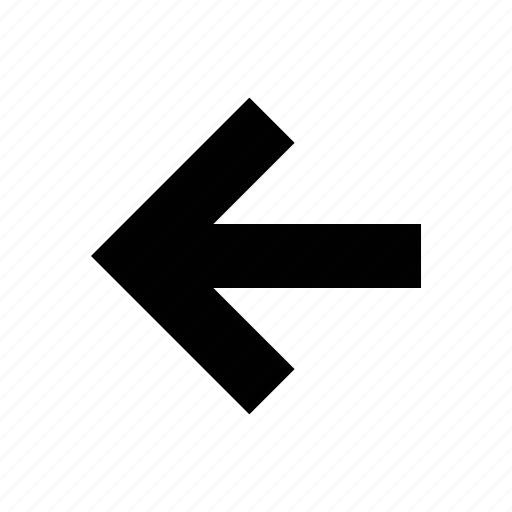 arrow, medium, squared icon