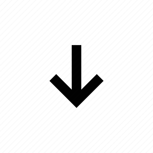 arrow, squared icon