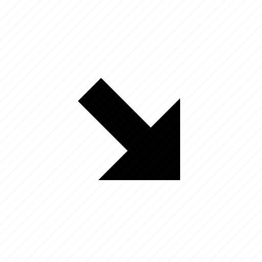 arrow, straight icon