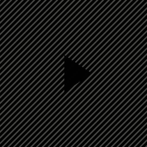 Mini, triangle, arrow icon - Download on Iconfinder
