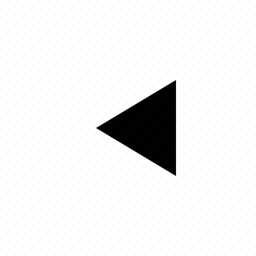 arrow, triangle icon