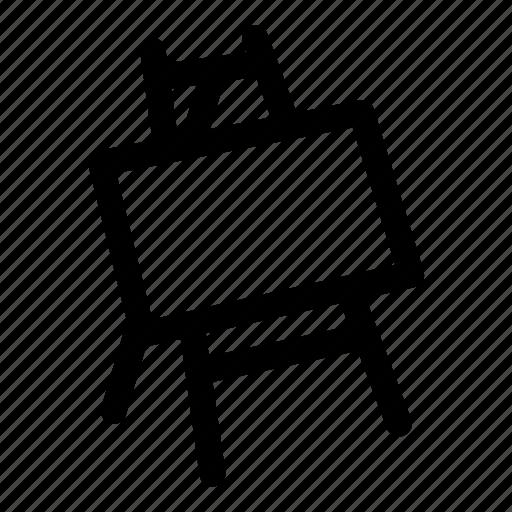 art, easel icon