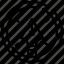 arrow, design, graphic, management, pen, process, time icon