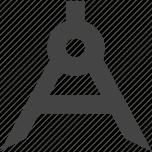 art, compass, design icon