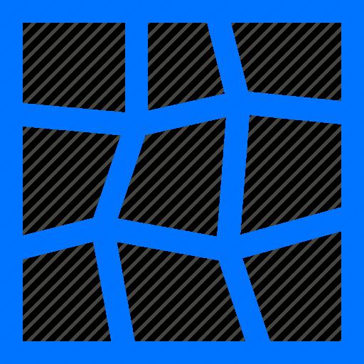 area, art, command, design, mesh icon