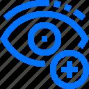 add, art, design, monitor, new, plus, view icon