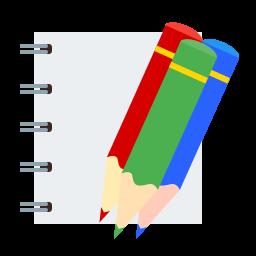 colored, draw, pencil icon