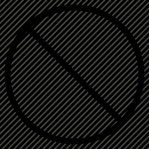 cancel, forbidden, no, prohibited icon