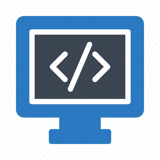 Coding, development, lcd, programming, screen icon - Download on Iconfinder