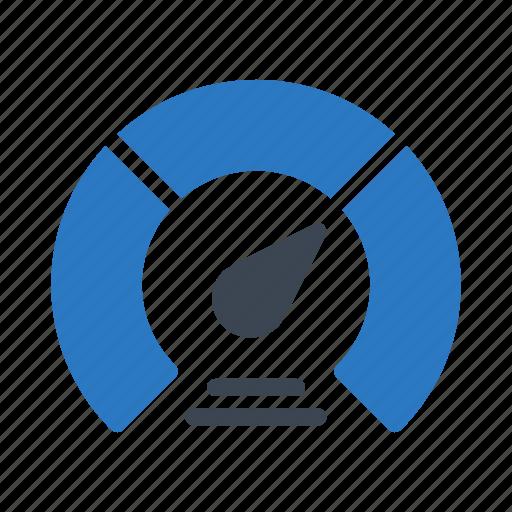gauge, measure, meter, performance, speed icon