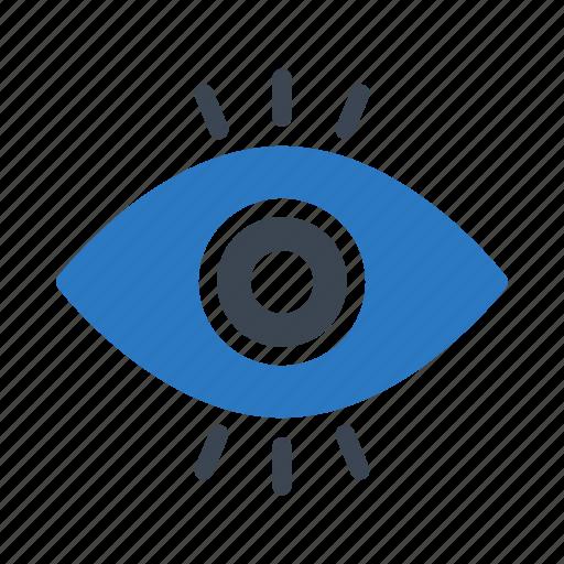 art, design, eye, look, view icon
