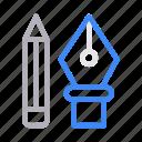 create, design, illustrator, nib, pen icon