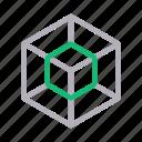 art, cube, design, hexagone, shape