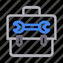 configure, kit, repair, setting, tools icon