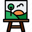 art, canvas, design, paint, painting icon