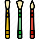 art, brushes, design, paint icon