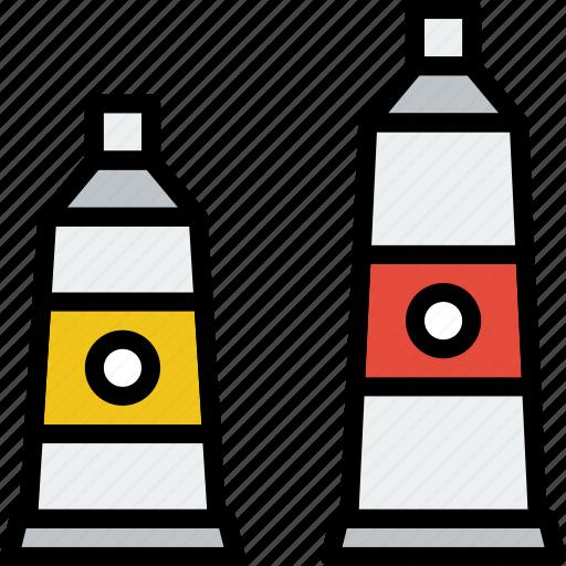 acrylic, art, design, paint icon