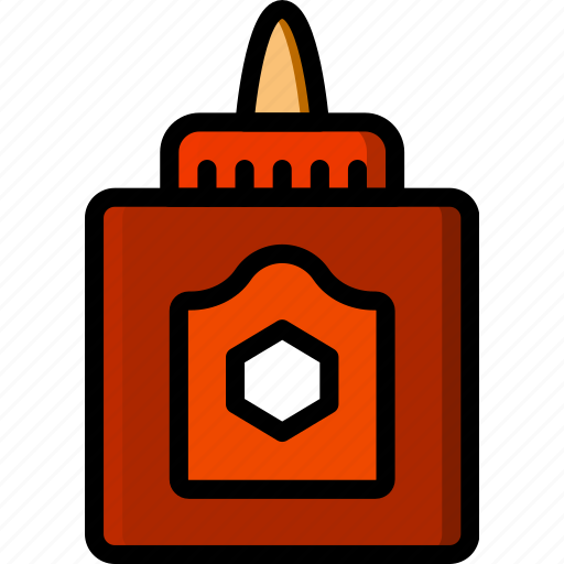 art, design, glue, paint icon