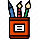 art, design, paint, painting, tools icon