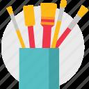art, brush, supplies icon