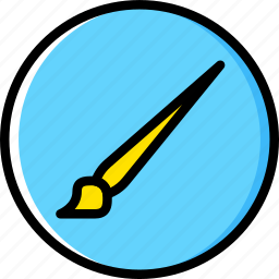 art, brush, design, paint icon