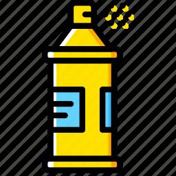 art, design, paint, spray icon