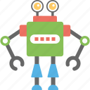 artificial intelligence, bionic man, industrial robot, mechanical man, robot icon
