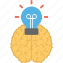 artificial intelligence, creative idea, creative mind, idea, mind bulb icon