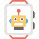 artificial intelligence, robot trends, robotic technology, robotic trends, robotic watch icon
