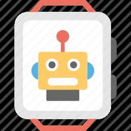 artificial intelligence, robot trends, robotic technology, robotic trends, robotic watch icon