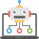 internet bot, robot database, web crawler, web robot, www robot icon