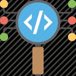 coding, html, programming, software development, web development icon