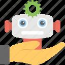 robot services, robot technology services, robotic development, robotic engineering, robotic system icon