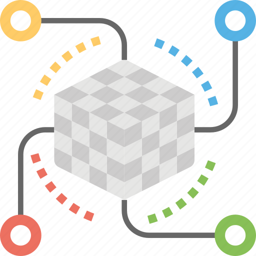 artificial intelligence, brain network, intelligence, machine learning, neuroscience icon