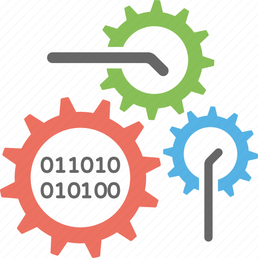 cyber technology, cybernetics, information technology, internet technology, technology symbol icon