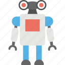 alien robot, android, artificial intelligence, bionic man, humanoid icon