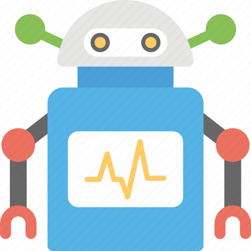medical robot, medical robot technology, robot-assisted cardiac surgery, robotic cardiac monitor, robotic cardiac surgery icon