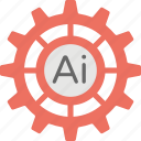 ai technology, artificial intelligence, artificial intelligence innovations, intelligence technology, machine intelligence icon