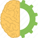 brain recovery, brain technology, creative brain, creative thinking, headgear icon