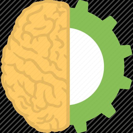 brain recovery, brain technology, creative brain, creative thinking, headgear icon