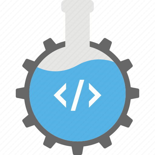 code analysis, computer sciences, data science, information technology, seo analysis icon