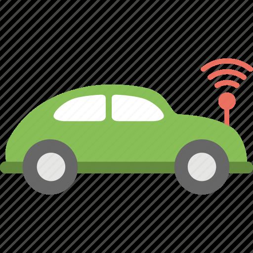 autonomous car, autonomous vehicle, driverless car, robotic car, self driving car icon