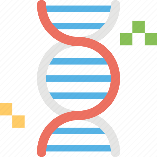 chromosome, dna, dna helix, dna strand, genetics icon