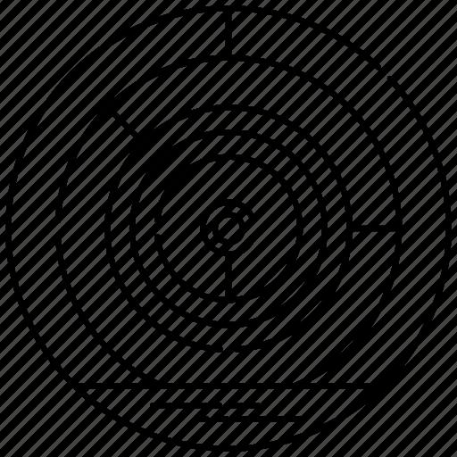 circular maze, circular puzzle, complexity, mystery, pattern icon