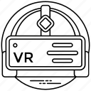 vr headset, virtual reality, virtual reality headset, head-mounted device, head mounted display