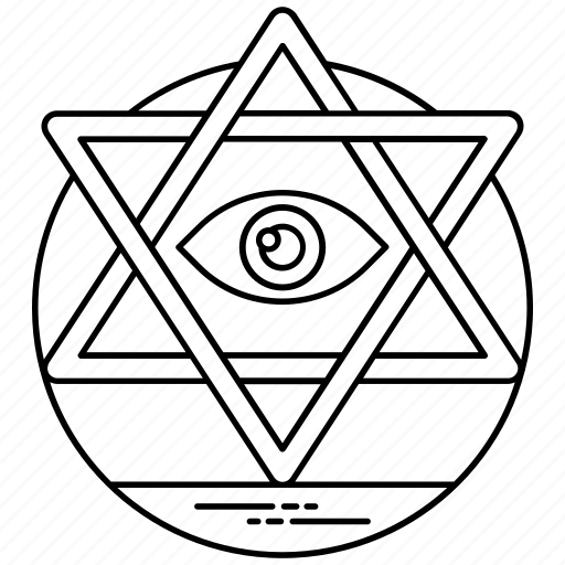 future religion, jewish sign, shield of david, spiritual sign, star of david icon