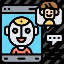 chatbot, assistant, communication, intelligence, service